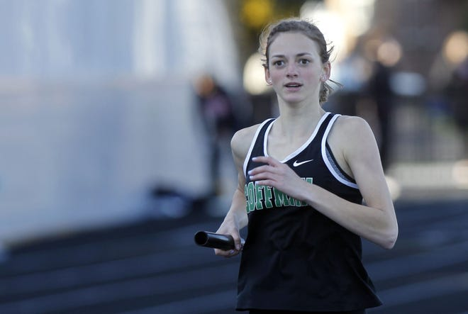 Kylie Feeney and the Coffman girls track and field team are competing in the Division I, district 1 meet at Hilliard Darby. The meet concludes May 22. The top four in each event advance to the regional May 26 and 28 at Pickerington North.