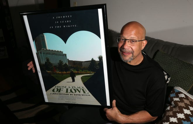 """Columbus resident David Bynum produced a documentary called """"From a Place Called Love: My Adoption Journey"""" about his search to identify his biological parents.  The film won the 2020 Columbus Black International Film Festival."""