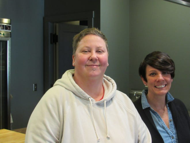 Jen Lindsey (left) and Anne Boninsegna, co-owners of the Kitchen, a participatory-dining venture in German Village, recently shared their views on how they sustained their business model during the COVID-19 coronavirus pandemic.