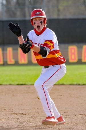 Cameron Drake and Big Walnut open the Division I district tournament May 17 against visiting Groveport. The winner visits Westerville Central on May 19.