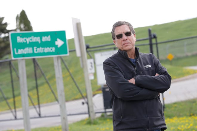 Little Chute resident Bruce Jansen is leading the charge against the Outagamie County Recycling & Solid Waste landfill expansion.