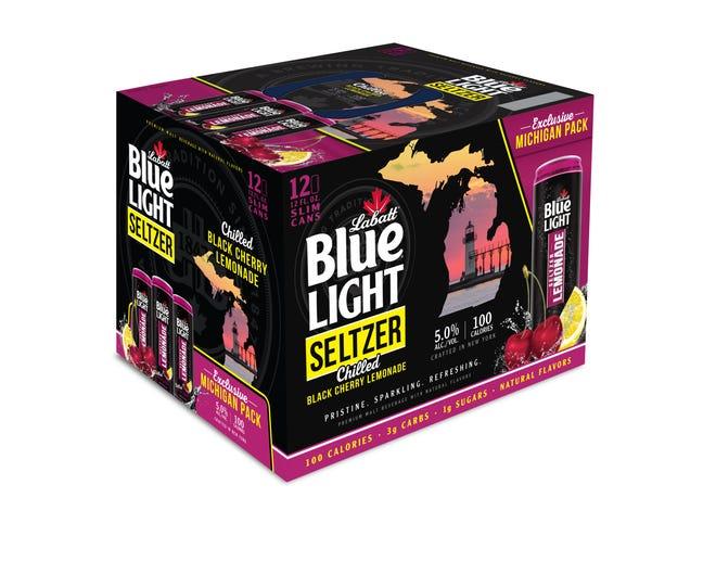 Labatt Blue Light Black Cherry Lemonade Seltzer