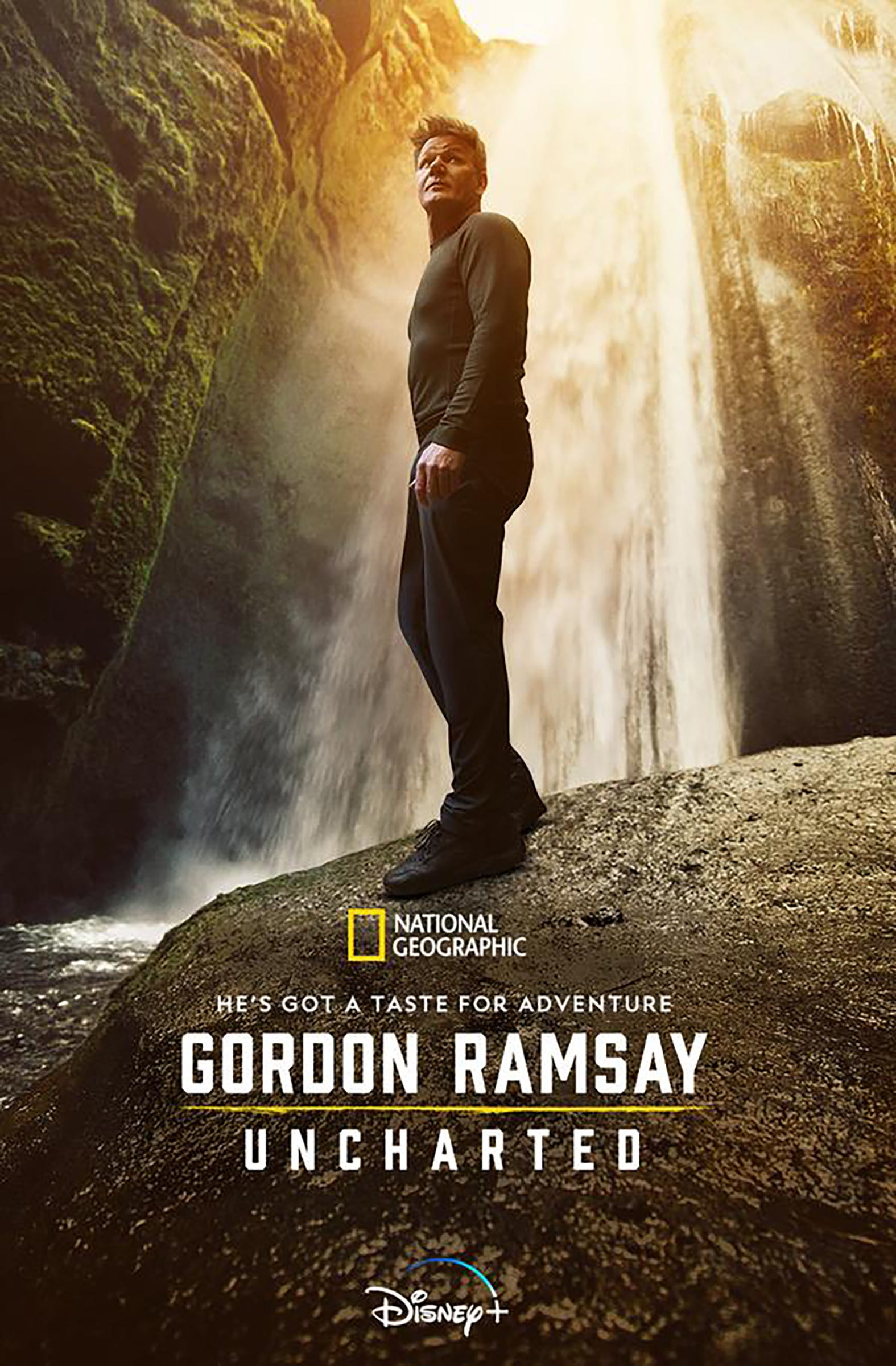 Gordon Ramsay filmed an episode of his 'Uncharted] series in the U.P.