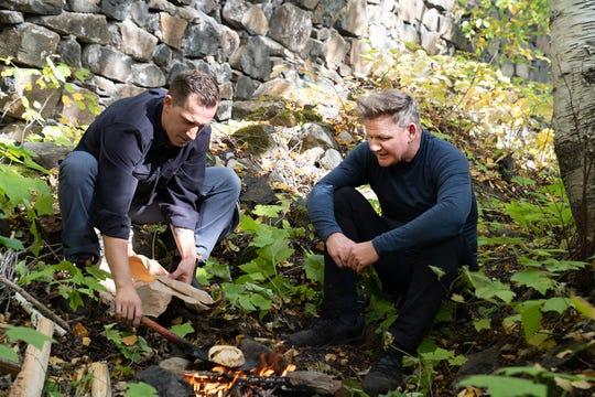 Em Michigan, o Chef James Rigato apresenta Gordon Ramsay a Pate, um carro-chefe da Yooper.