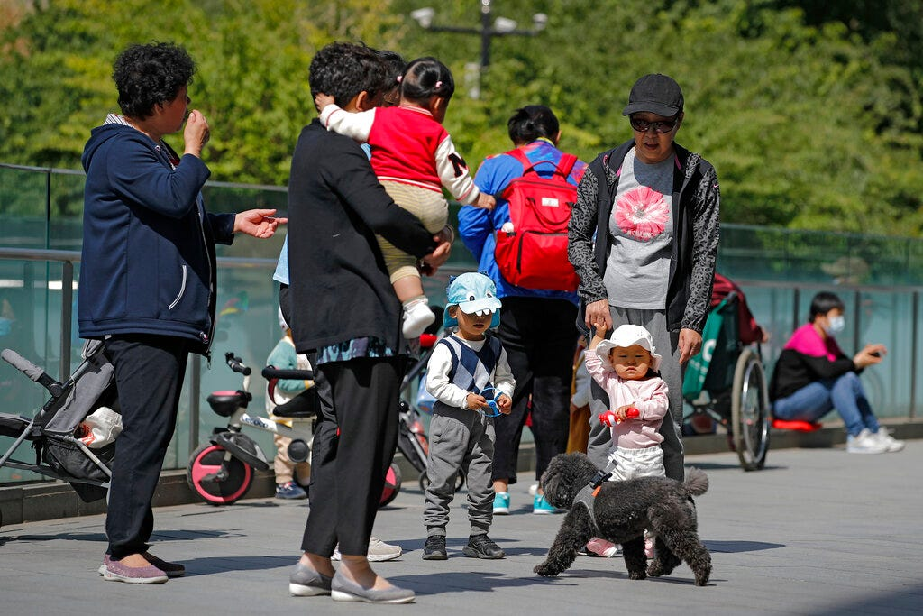 1.4B but no more? China's population growth closer to zero 2