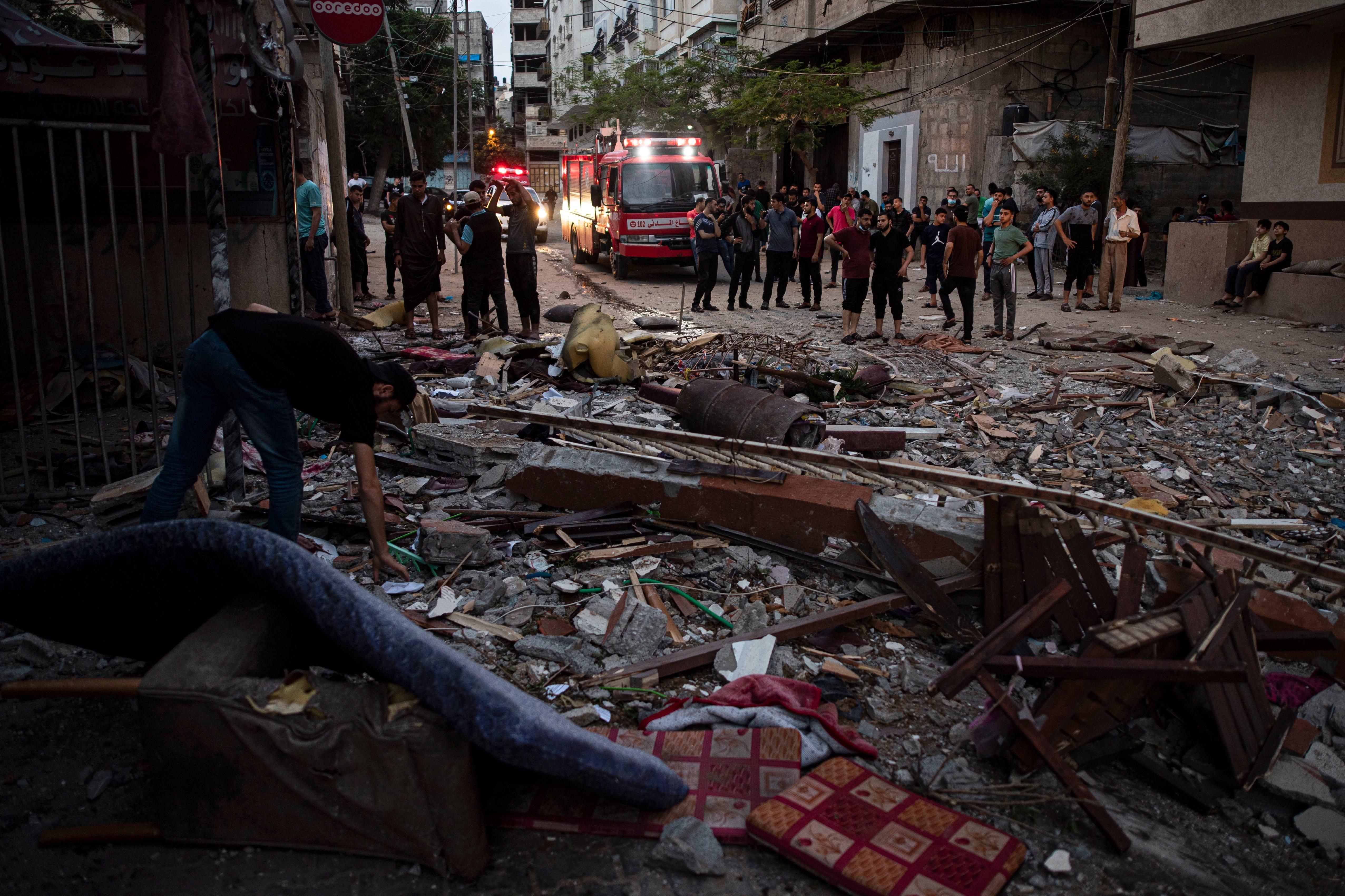 Gaza militants, children among 24 dead as Israel hits Hamas 2