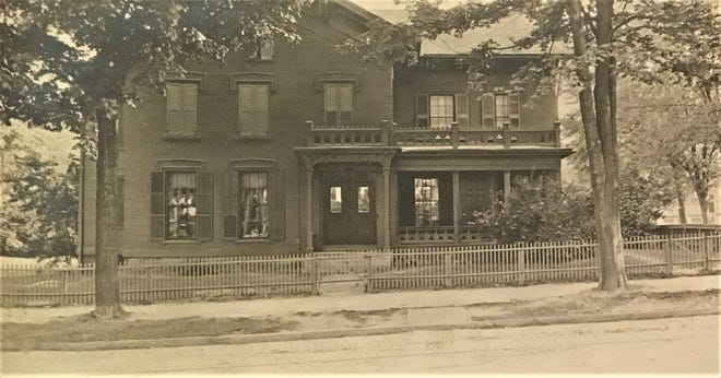 An early home on Croghan Street, Fremont.