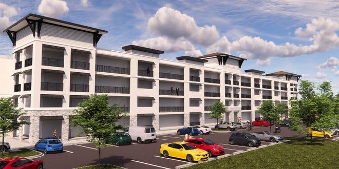 Rendering of the Cape 91 Villa Apartments