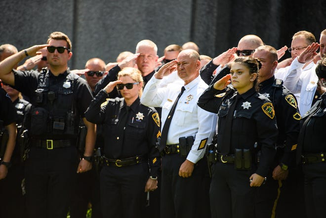 GREENVILLE NEWS – Greenville law enforcement agencies remember officers who died in line of duty