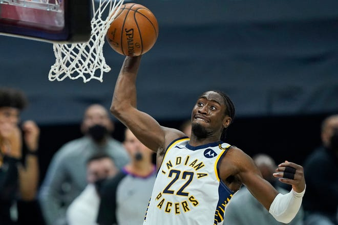 Caris LeVert came to the Pacers in the James Harden/Victor Oladipo trade and showed glimpses of the breakout player he can become— after recovering from surgery for a cancerous growth on a kidney. He averaged 21 points, 4.7 rebounds and 4.9 assists in 34 games with the Pacers. He's due $36.3 million over the next two seasons.