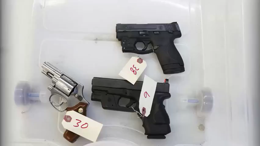 Confiscated guns from crimes are resold at 2018 state auction in 2018