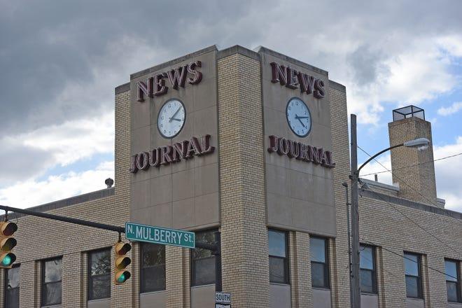 Mansfield News Journal building.