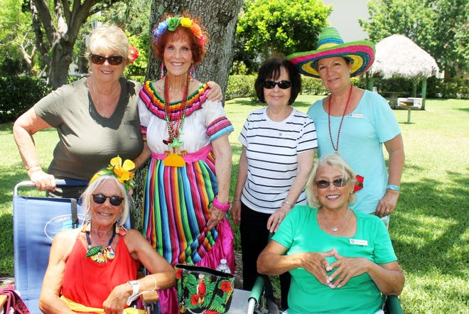 Cindy MacQuarrie, Joannie Brannick, Susie Walsh, Diane Perino, Lynn Nathanson and Dolores Constanzer enjoyed a fabulous afternoon.