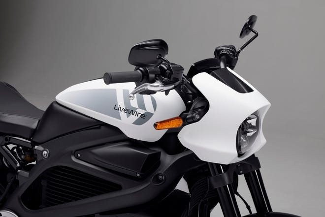 Harley-Davidson's electric motorcycle, LiveWire, is now a separate brand for the company.