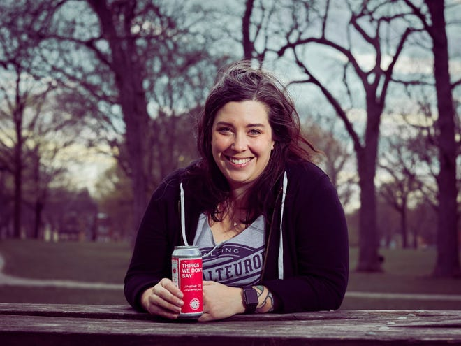 Nicole Henzel of Milwaukee's Malteurop Malting Company worked with Hope for the Day to come up with the concept of having breweries use their platforms to spread mental health awareness.