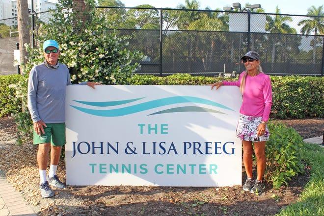 Dedication of The John and Lisa Preeg Tennis Center