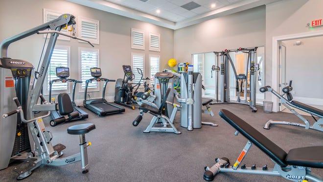Antilles Fitness Room