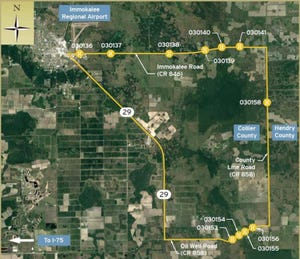 Collier County commissioners awarded bids on May 11 to replace 10 bridges east of Immokalee and State Road 29 for approximately $26.7 million. One additional bridge is left to award, and all 11 bridge replacements are not expected to cost more than $33 million, according to the county.