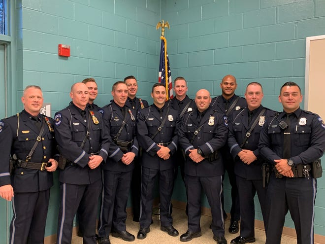Ten officers at Fairview Township Police Department were commended during an annual award ceremony on Saturday May 8, 2021.