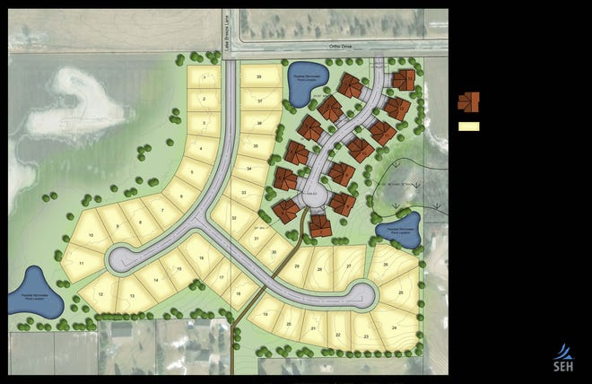Woodland View Subdivision will feature a combination of condos and single-family housing off Lake Breeze Lane and Orth Drive, according to the Sheboygan Economic Development Corporation.