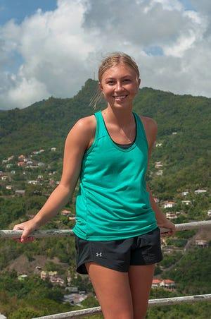 Brooke Schreiber on 2019 trip to Grenada
