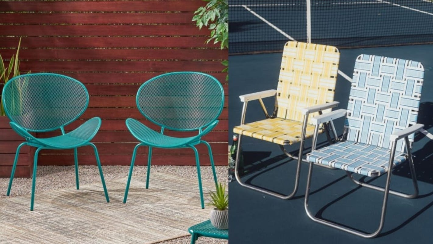 11 retro metal lawn chairs that are still stylish in 2021
