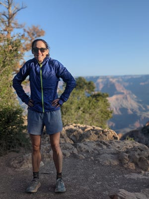 Austin runner Mallory Brooks set a new Grand Canyon rim-to-rim-to-rim run record last weekend. She covered the 45-mile round trip not once, but twice for a total of 90 miles and a whopping net of 40,000 feet of ascents and descents accumulated over the course.