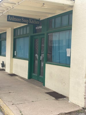 The Ardmore Soup Kitchen will cease serving meals from its current location on Thursday, May 13. It will reopen from a temporary location at St. Philip's Episcopal Church on Monday.