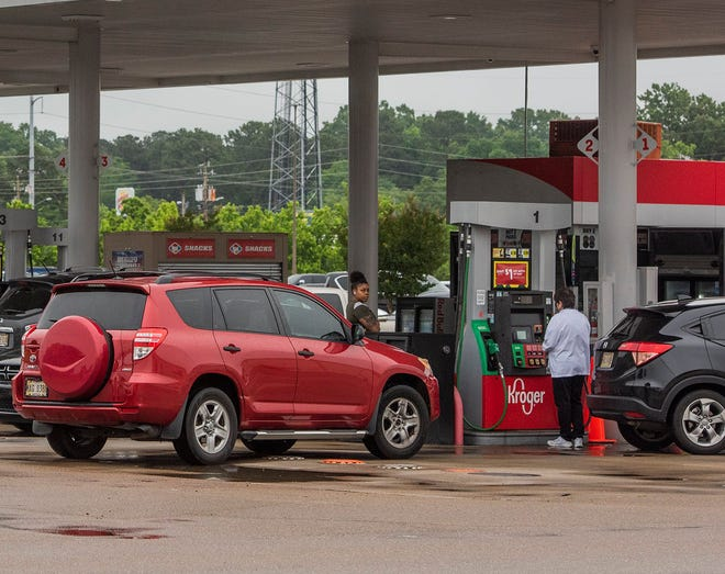 A shortage of tanker truck drivers is causing some gas pumps to run out of fuel for short periods.
