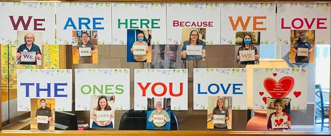 BLC – Crookston staff celebrate National Skilled Nursing Care Week.
