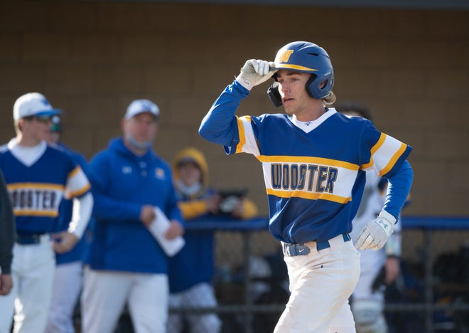 Tyler Pettorini leads Wooster into the playoffs on a season-long tear, owning a .538 batting average with 15 doubles, five triples, one home run, 23 runs batted in, 36 runs scored, and 29 stolen bases.