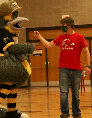 Devils Lake High School anatomy teacher Cal Potter has been named one of several winners of the Lignite Energy Teacher of the Year, hosted by the Bismarck Larks.