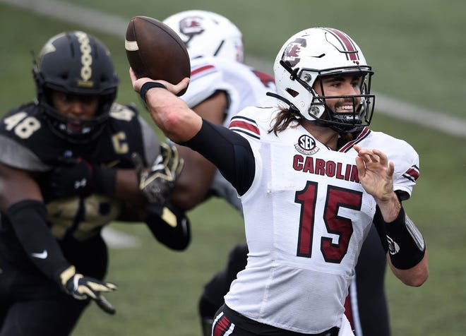 Former South Carolina quarterback Collin Hill is trying to make the roster with the Cincinnati Bengals.