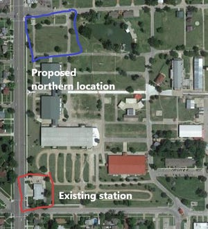 The Kansas State Fair's Interim General Manager had proposed keeping a city fire station at its existing location when a new station is built, rather than moving it north on the grounds. The Fair Board on Tuesday, however, voted against the idea, supporting a request of Hutchinson's Fire Chief to stay with a relocation plan initiated by former Fair General Manager Robin Jennison.