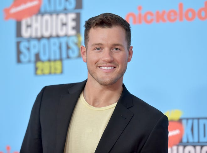 Colton Underwood arrives at the Kids' Choice Sports Awards in Santa Monica, Calif., on July 11, 2019. (Photo by Richard Shotwell/Invision/AP, File)