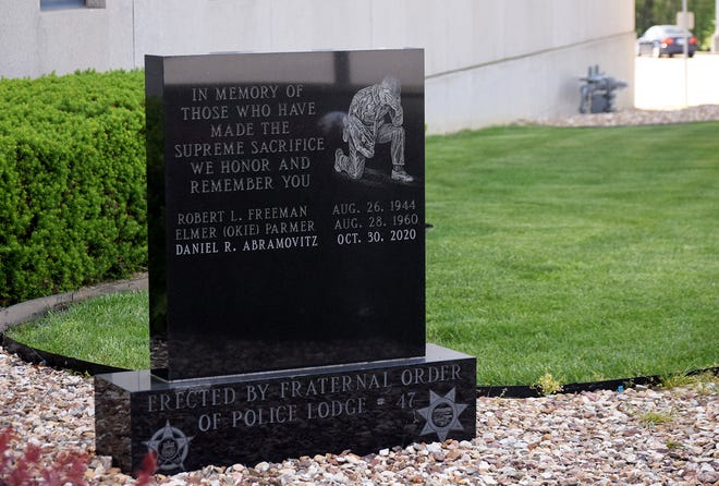Daniel Abramovitz's name has been added to a monument that honors fallen members of the Leavenworth County Sheriff's Office. The monument is located at the Justice Center in Leavenworth.