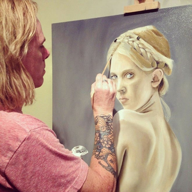 Reian Williams will speak and demonstrate his painting techniques at 7 p.m. May 24 in his studio, 316 W 33 St.