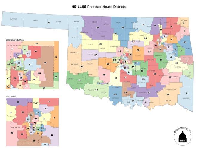 Proposed Senate districts