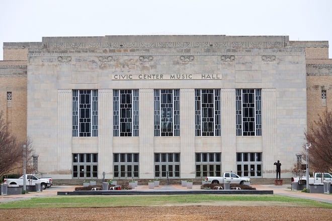 Civic Center Music Hall in Oklahoma City.