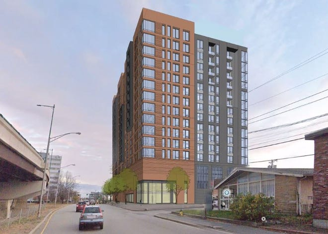 Tremont Quincy 1, LLC, created by Boston-based developer Slater Family Holdings, plans to build a 16-story residential building off of Hancock Street in North Quincy.