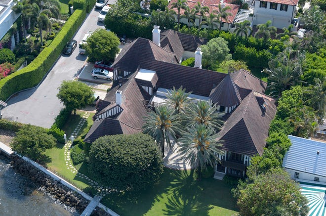 A landmarked house on the Intacoastal Waterway at 210 Via Del Mar in Palm Beach has sold for a recorded $23.75 million, a deed recorded Tuesday shows.