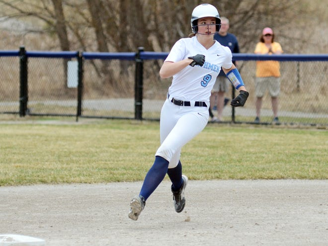 Brooke Bixby added a couple more extra-base hits against TC Central Tuesday, though the Northmen dropped a pair.