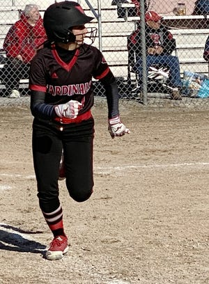Sydney Townsend and the Johannesburg-Lewiston softball team captured a non-conference doubleheader sweep over Leelanau St. Mary on Monday.