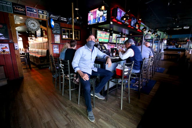Kevin Crowell is the new owner of Mojo's West End Tavern in Portsmouth.