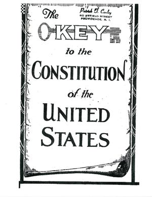 """""""The Key to the Constitution of the United States"""""""