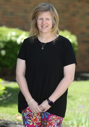 Jolynn Woofter, a fifth-grade math/science teacher at Pfeiffer Intermediate School, is a Canton Repository's Walsh University Teacher of the Month for May.