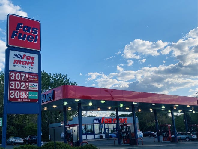Fas Fuel gas station, 3730 N. Alpine Rd. in Rockford, is pictured on Wednesday, May 12, 2021.