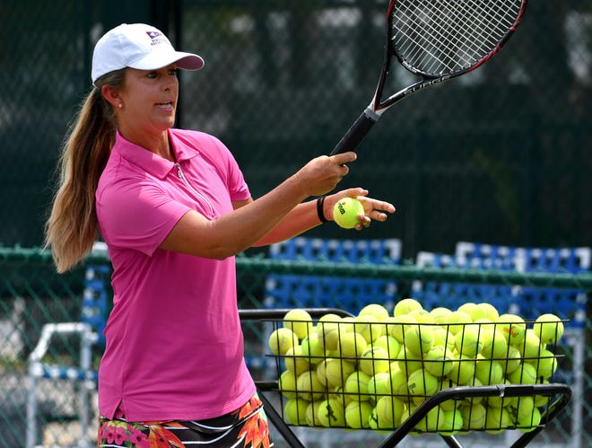 """Jackie Bohannon, tennis director at Bird Key Yacht Club, was named """"America's Top Coach by Tennis Channel's TOPSPIN newsletter."""