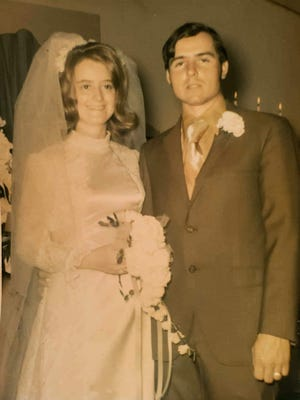 Jesse and Barbara McGaha were married May 15, 1971, in Thomas, Oklahoma, the day after Barbara graduated from Thomas High School.
