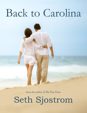 """UNCW graduate Seth Sjostrom is the author of the new romance novel """"Back to Carolina,"""" which is set in the Wilmington area."""